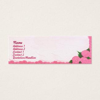 Cakes - Skinny Mini Business Card