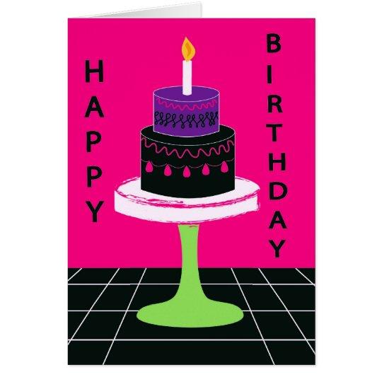 Cakey Birthday Card Series 1