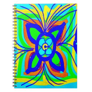 Cal abstracta del trullo del Doodle de los niños d Libretas
