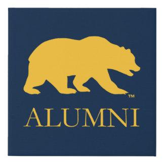 Cal Bear Alumni Faux Canvas Print