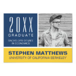 Cal Berkeley Graduation Announcement at Zazzle