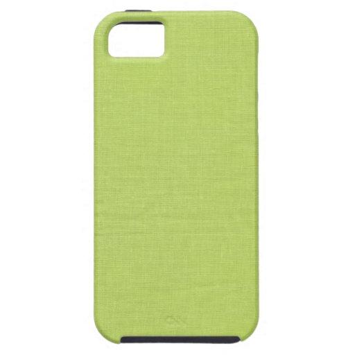 Cal de lino de //de la tela de la textura iPhone 5 protectores
