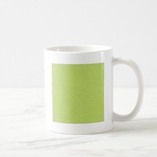 Cal de lino de //de la tela de la textura tazas de café