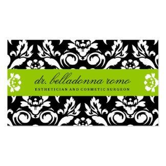 Cal del damasco de 311 belladonas tarjetas de visita