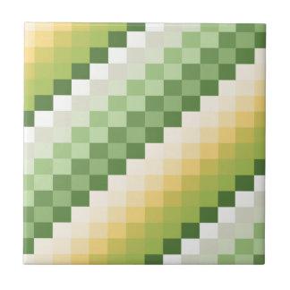 Cal del limón azulejo cuadrado pequeño