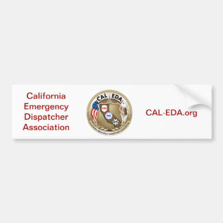 CAL-EDA Bumpersticker Pegatina Para Auto