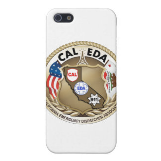CAL-EDA Logo iPhone 4 Case