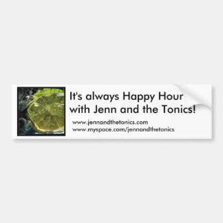 CAL, es siempre hora feliz con Jenn y… Pegatina Para Auto