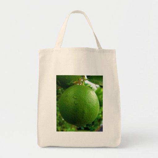 Cal, fácil ser verde bolsa tela para la compra