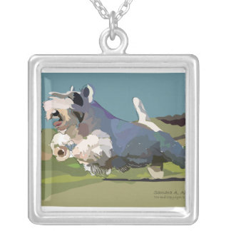 Cal Gives Chase Silver Plated Necklace