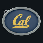 """Cal Gold Script Belt Buckle<br><div class=""""desc"""">Check out these new UC Berkeley designs! Show off your Cal Bear pride with these new UC Berkeley products. These make perfect gifts for the Bears student, alumni, family, friend or fan in your life. All of these Zazzle products are customizable with your name, class year, or club. Go Bears!...</div>"""