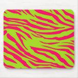 Cal Mousepad personalizado estampado de zebra de l Tapete De Raton