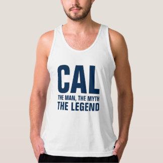 Cal the man the myth the legend tanktop