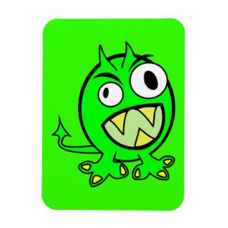 cal verde extranjera FUNN asustadizo del monstruo  Imanes De Vinilo