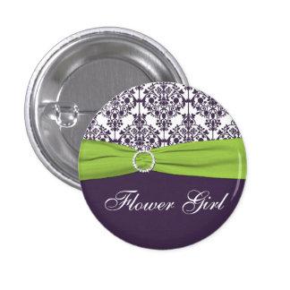 Cal y Pin púrpura del florista del damasco -