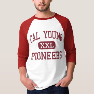 Cal Young - Pioneers - Middle - Eugene Oregon T-Shirt