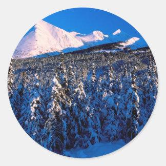 Cala Alaska del barranco de Kenai Ains del parque Pegatina Redonda