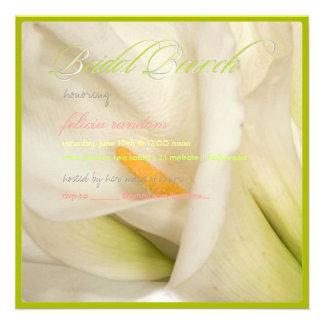 Cala blanca de PixDezines/brunch nupcial Invitaciones Personales