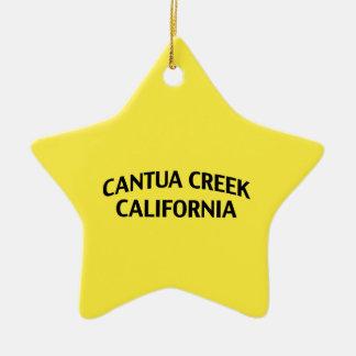 Cala California de Cantua Adorno Navideño De Cerámica En Forma De Estrella