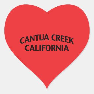 Cala California de Cantua Pegatina En Forma De Corazón