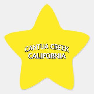 Cala California de Cantua Pegatina En Forma De Estrella