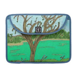 Cala con manga de Macbook del árbol la favorable Funda Para Macbook Pro