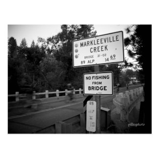 Cala cruzada de Markleeville de los jinetes de la Postal