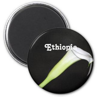 Cala de Etiopía Imán Redondo 5 Cm