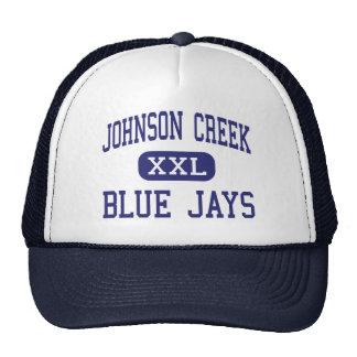 Cala de Johnson - arrendajos azules - alta - cala  Gorro De Camionero