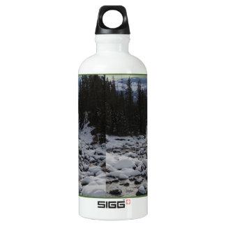 Cala de la mota de la soda Nevado en Yellowstone