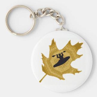 cala de oro del kajak llavero personalizado
