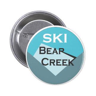 Cala del oso del esquí pin