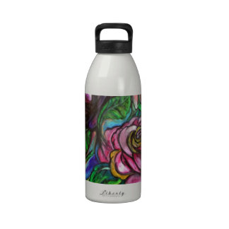 Cala Lillies Botella De Agua Reutilizable