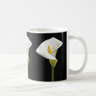 Cala Lillies Classic White Coffee Mug