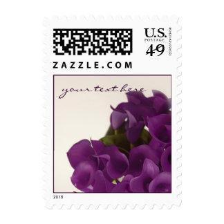 Cala púrpura de PixDezines/boda de la caída Sellos