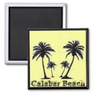Calabar, Nigeria 2 Inch Square Magnet