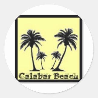Calabar, Nigeria Classic Round Sticker