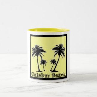 Calabar, Nigeria Two-Tone Coffee Mug