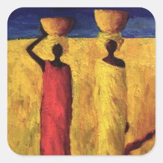 Calabash Girls 1991 Square Sticker