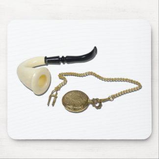 CalabashPipePocketWatch102410 Mouse Pads