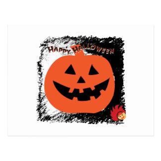 Calabaza 6 de Halloween Postal