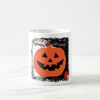 Calabaza 6 de Halloween Taza Clásica
