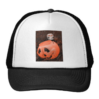 Calabaza agrietada gorra