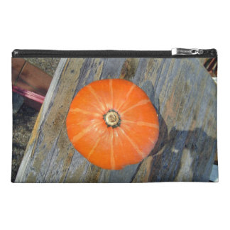 Calabaza anaranjada en la visión tablero