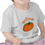Calabaza anaranjada linda para Guillermo Camisetas