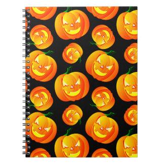 Calabaza asustadiza de Halloween, Jack-O-Linterna, Libros De Apuntes