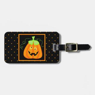 Calabaza banal de Halloween en negro