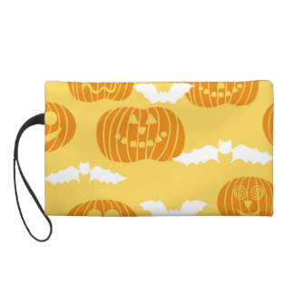 Calabaza brillante de Halloween y diseño del palo