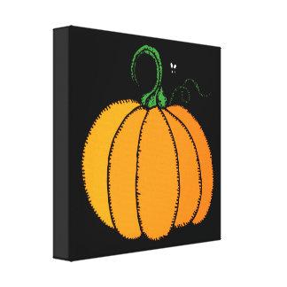 Calabaza - calabaza, calabaza, Halloween, caída Impresiones En Lona Estiradas