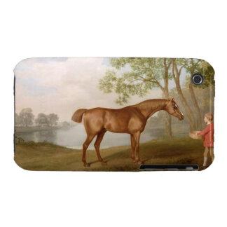 Calabaza con un Estable-Chaval, 1774 (aceite en el iPhone 3 Carcasa